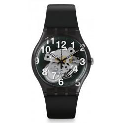 Montre Swatch Unisex New Gent Black Board SUOK135
