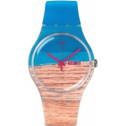 Montre Swatch Unisex New Gent Blue Pine SUOK706
