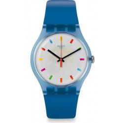 Montre Swatch Unisex New Gent Color Square SUON125
