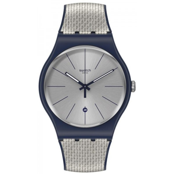 Acheter Montre Swatch Unisex New Gent Grey Cord SUON402