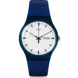 Montre Swatch Unisex New Gent Bellablu SUON709