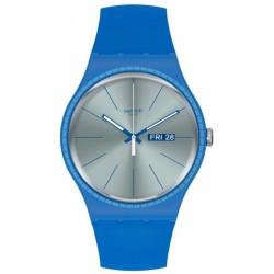 Montre Swatch Unisex New Gent Blue Rails SUON714