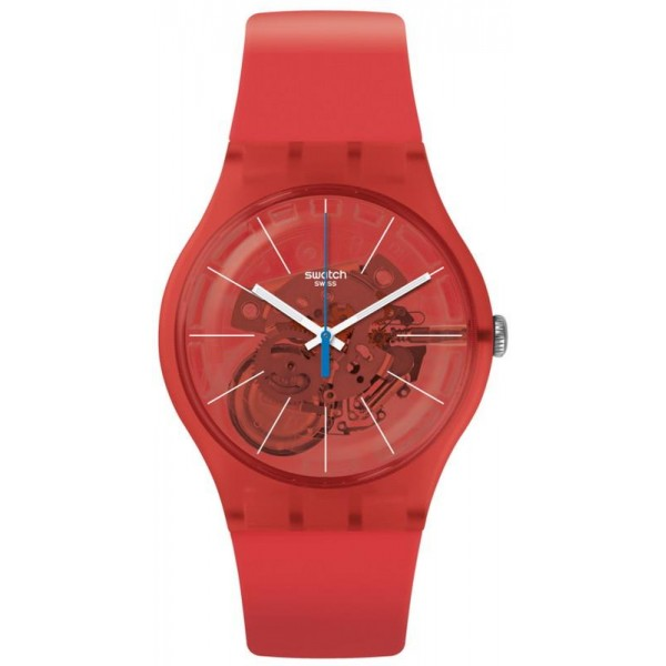 Acheter Montre Swatch Unisex New Gent Bloody Orange SUOO105