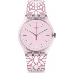 Montre Swatch Femme New Gent Fleurie SUOP109