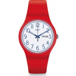 Montre Swatch Unisex New Gent Red Me Up SUOR707