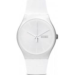 Montre Swatch Unisex New Gent White Rebel SUOW701