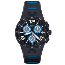 Acheter Montre Swatch Homme Chrono Plastic Black Spy SUSB410