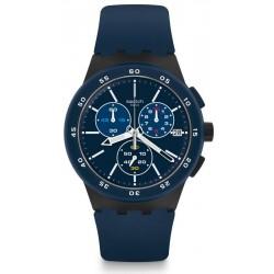 Acheter Montre Swatch Homme Chrono Plastic Blue Steward SUSB417