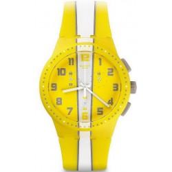Montre Swatch Unisex Chrono Plastic Amorgos SUSJ100