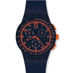 Montre Swatch Unisex Chrono Plastic Rebirth Blue SUSN401