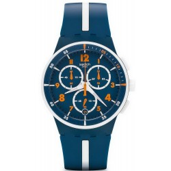 Montre Swatch Homme Chrono Plastic Whitespeed SUSN403
