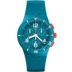 Montre Swatch Unisex Chrono Plastic Patmos SUSN406