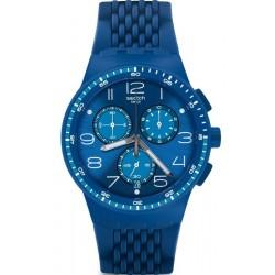 Acheter Montre Swatch Unisex Chrono Plastic Triple Blu SUSN415