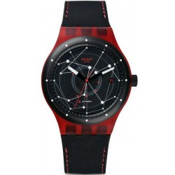 Acheter Montre Swatch Unisex Sistem51 Sistem Red Automatique SUTR400