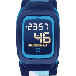 Montre Swatch Unisex Digital Touch Zero Two Nossazero2 SVQN102