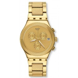 Montre Swatch Unisex Irony Chrono Goldy Full YCG420G