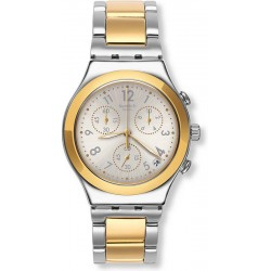 Montre Swatch Unisex Irony Chrono Dreamnight Golden YCS590G