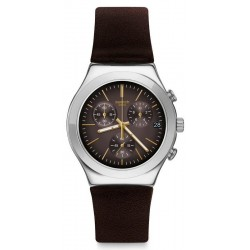 Montre Swatch Homme Irony Chrono Brownflect YCS600