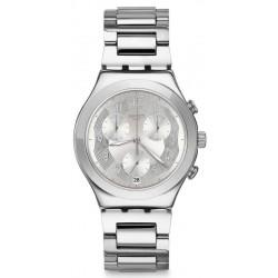 Montre Swatch Unisex Irony Chrono Silver Ring YCS604G