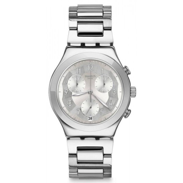 Acheter Montre Swatch Unisex Irony Chrono Silver Ring YCS604G