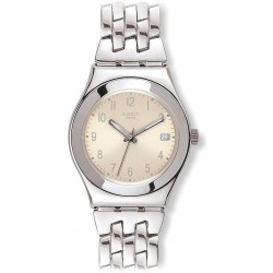 Montre Swatch Femme Irony Medium Follow Ways Cream YLS441G