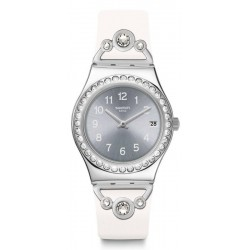 Montre Swatch Femme Irony Medium Pretty In White YLS463