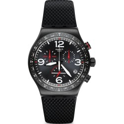 Acheter Montre Swatch Homme Irony Chrono Black Is Back YVB403