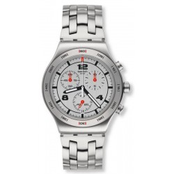 Montre Swatch Unisex Irony Chrono Silver Again YVS447G
