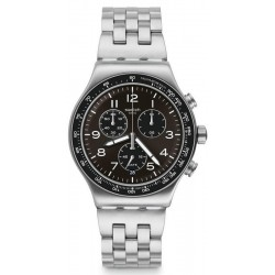Montre Swatch Homme Irony Chrono Deepgrey YVS465G