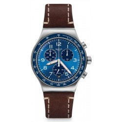 Montre Swatch Homme Irony Chrono Casual Blue YVS466