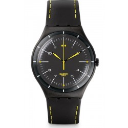 Montre Swatch Homme Irony Big Classic Black Bliss YWB100