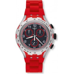 Montre Swatch Homme Irony Xlite Red Attack YYS4018AG Chronographe