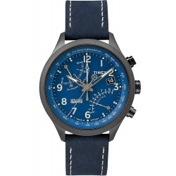 Acheter Montre Timex Homme Intelligent Quartz Fly-Back Chronograph T2P380