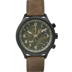 Acheter Montre Timex Homme Intelligent Quartz Fly-Back Chronograph T2P381
