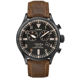 Acheter Montre Timex Homme The Waterbury Chronograph Quartz TW2P64800