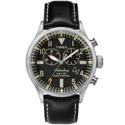 Acheter Montre Timex Homme The Waterbury Chronograph Quartz TW2P64900