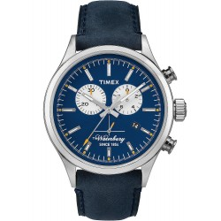 Acheter Montre Timex Homme The Waterbury Chronograph Quartz TW2P75400
