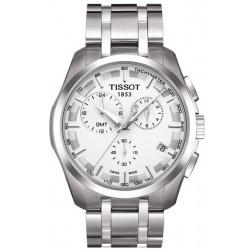 Montre Homme Tissot T-Classic Couturier GMT T0354391103100 Chronographe
