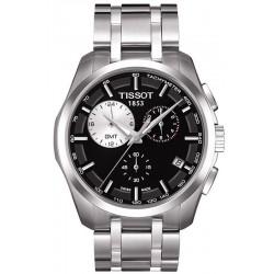 Montre Homme Tissot T-Classic Couturier GMT T0354391105100 Chronographe