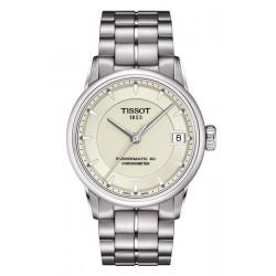 Acheter Montre Femme Tissot T-Classic Luxury Powermatic 80 COSC T0862081126100